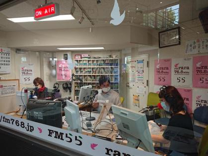 岐阜県のキャンピングカー販売ブルームーンのラジオ番組
