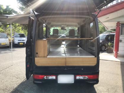 長野県のキャンピングカー販売 IZホールディングスの軽キャンパー