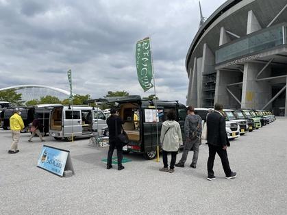 軽キャンピングカーちょいCam展示の軽大会
